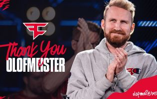 Olofmeister parts ways with FaZe Clan