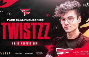 Twistzz joins FaZe Clan