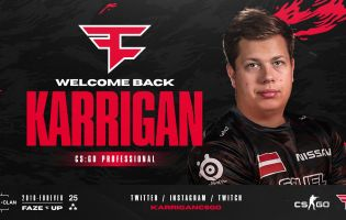 Karrigan leaves Mousesports, re-signs with FaZe Clan
