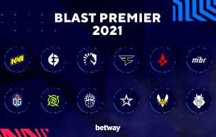 The teams competing in the BLAST Premier Spring Groups 2021 have been announced